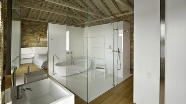 5 mẫu phòng tắm vách kính đẹp nhất 2018