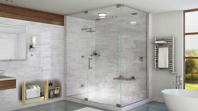 Vách tắm kính vuông góc có giá bán bao nhiêu tiền?