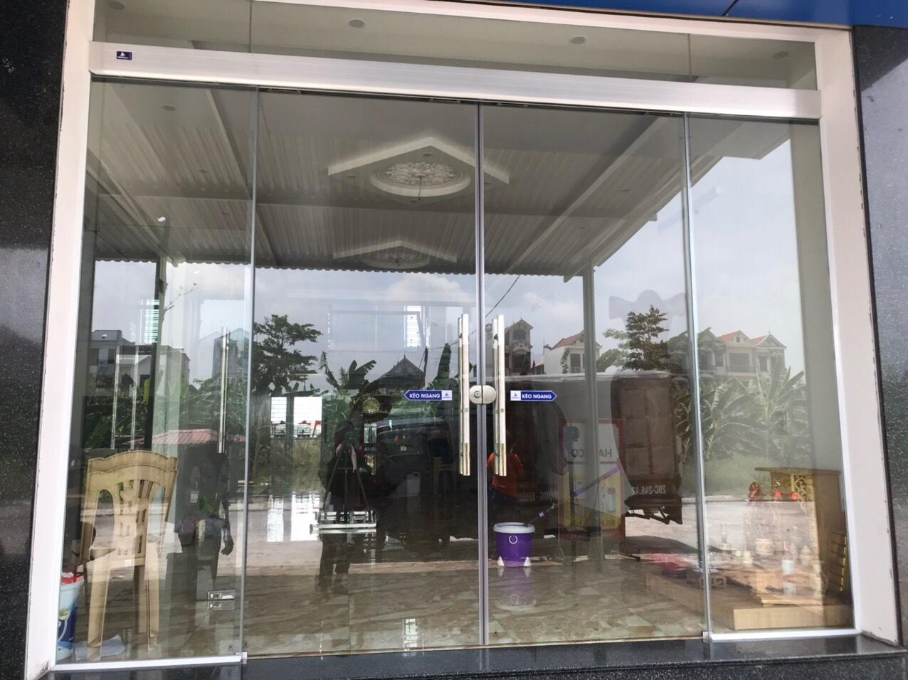 Công trình sử dụng sản phẩm Ray treo cửa lùa - Cửa bán tự động HEDERA